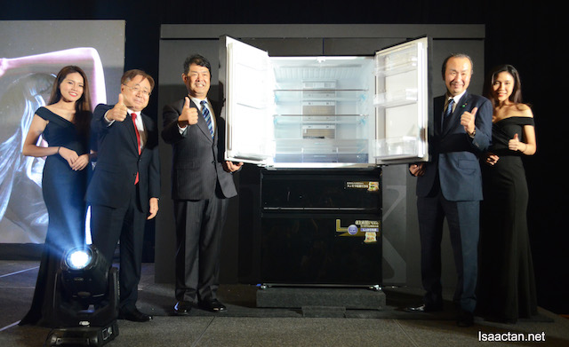 The Launch Of Mitsubishi Electric LX Grande Refrigerator