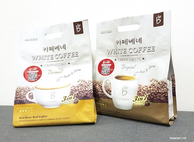 Get Your Caffe Bene Premix White Coffee Today, Stand A Chance To Win RM10,000