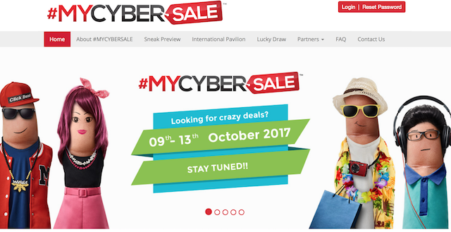 #MYCYBERSALE 2017 Is Back – Great Deals Are ON!
